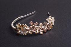 Cordeluţă Joséphine Mariage 2013 #1 Fascinator, Headpiece, Josephine, 2013, Headbands, Brooch, Crown, Jewelry, Fashion