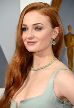 Sophie Turner attending the 88th Annual Academy Awards at Hollywood & Highland Center on February 28, 2016 in Hollywood, California.