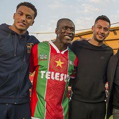 Jaïro Riedewald, Clarence Seedorf & Ricardo Kishna #Ajax