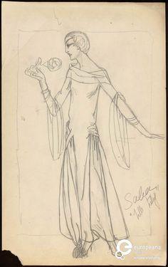 Modèle de robe Saba 1922