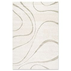 Sculpted swirls and a tonal ivory color palette make this nuLOOM Carolyn Indoor Area Rug a sophisticated style foundation for your room. This area rug. Grey Shag Rug, Florida, Cream Area Rug, Contemporary Area Rugs, Modern Contemporary, Danish Modern, Modern Design, Area Rug Sizes, Online Home Decor Stores
