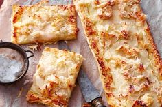 Quick apple, almond, coconut tart  4 sheets fresh filo pastry Olive oil spray 2 tablespoons apricot jam or other fruit jam 2 Granny Smith apples 1 eggwhite 2 tablespoons icing sugar 1/2 cup (40g) flaked almonds 1/3 cup (25g) shredded coconut