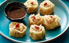 ching-he-huang recipe | pork and prawn dumplings