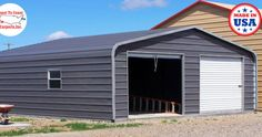 Want to buy a metal carport? Buy direct from one of the leading manufacturers of metal carports. We offer an extensive range of steel carports and kits at the best prices. Carport Garage, Garage Doors, Coast To Coast Carports, Carports For Sale, Steel Carports, Metal Garages, Prefab, Shed, Outdoor Structures