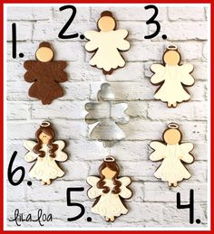 Sugar Cookie Angels - a cookie decorating tutorial Christmas Goodies, Christmas Angels, Christmas Treats, Christmas Baking, Christmas Desserts, Christmas Christmas, Christmas Presents, Christmas Sugar Cookies, Holiday Cookies