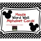 Free alphabet cards! See my shop for coordinating items :)... Mickey Mouse Classroom, Disney Classroom, Kindergarten Classroom, Future Classroom, Classroom Themes, Classroom Organization, Kindergarten Rocks, School Tool, Fancy Letters