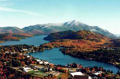 Adirondack Mtns. Lake Placid, NY. Love going here in the fall to see the leaves changing.