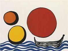 Bateau Noir By Alexander Calder