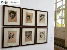 #Repost @milmeno #mybiennalern #biennaledisegnorimini #cenacolobelgioioso #teatrogalli @biennaledisegno