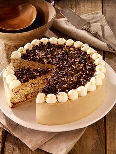 Kaffee-Whisky-Torte