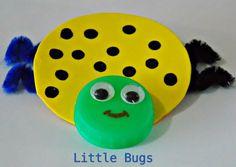 Milk bottle lid bugs