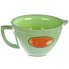 Fire King Jadeite Batter Bowl, $154, now featured on Fab.