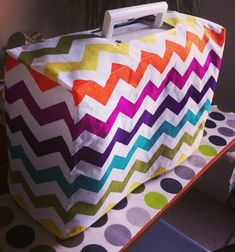 Create a stylish sewing machine cover with this tutorial.