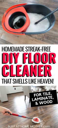 Laminate Wood Floor Cleaner, Cleaning Wood Floors, Laminate Floor Cleaning, Clean Wood Laminate, Cleaning Floors With Vinegar, Homemade Cleaning Products, Household Cleaning Tips, House Cleaning Tips, Household Cleaners