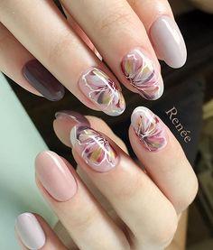 秋色♡ 絶妙な可愛さ♡ @renee.nailsalon #秋ネイル#nail#nails#gelnails#nailart#ネイル#ジェルネイル#美甲#네일#젤네일#nailsalonrenee#ネイルサロンレネ#3Dattacker#フルーリアジェル#love#instagood#tbt#photooftheday#japanesenailart
