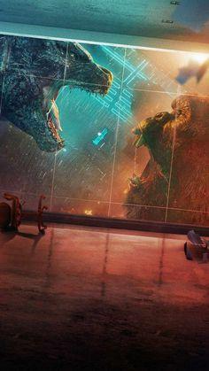 Space Artwork, Artwork Images, Cool Artwork, King Kong Image, Spiderman Vs Captain America, Movie Wallpapers, Iphone Wallpapers, Hd Wallpaper, King Kong Vs Godzilla