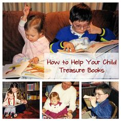 How to Help Your Child Treasure Books - includes Montessori presentation for opening and closing a book