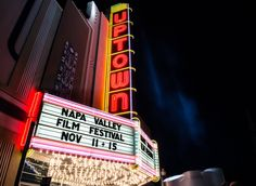 7 Things to Do in Napa This Fall- Rub elbows with California's wine, food, and film elite