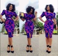 Hey Lovely ladies, Its a beautiful Monday morning and we've decided to share some lovely ankara styles with you because why not. As an african women or l African Print Dresses, African Dresses For Women, African Attire, African Wear, African Fashion Dresses, African Women, African Prints, Ankara Fashion, African Style