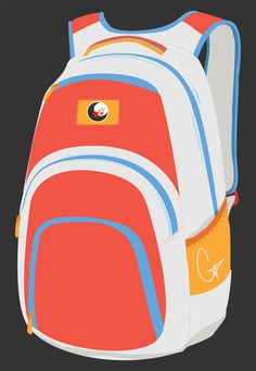 Here is an illustrated design that I've created for the Backpack Awareness Week in 2016. The design never got used, so here it is everyone. Enjoy!