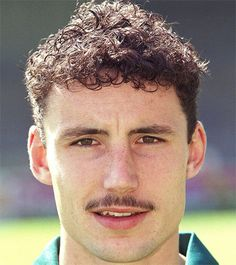 Dutch player Mark van Bommel, in his early years at Fortuna Sittard.