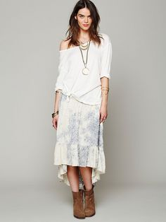 #Free People              #Skirt                    #Free #People #Blue #Skies #Skirt                   Free People Blue Skies Skirt                                                  http://www.seapai.com/product.aspx?PID=1594158
