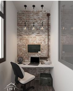 Balcony Design, Brick Paneling, House Rooms, Interior Design Trends, Home Office Design, House Design, New Homes, Home Decor, Home Deco