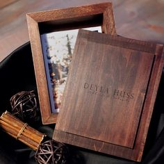 We love how well the color of the Dark Proof Box compliments fall colors with it's neutral tone. Logo by Deyla Huss Photography