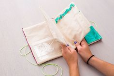 Need a new jewelry bag? Here's a fun DIY project! | DunnDIY.com | #inspiration