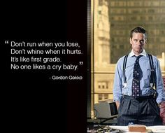 Gordon Gekko.