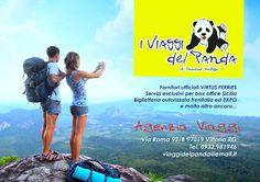 I viaggi del Panda ADV - Magazine Advertising Graphic #advertising #magazine #layout #graphic #design #adv #inspiration #campain #pubblicità #media #creative #ideas #photograpy www.euromanagement.it