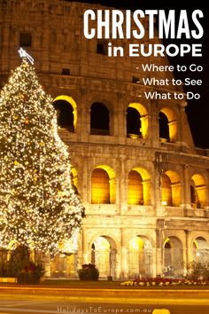 Christmas in Europe. Where to go, What to see, what to do | Have you been dreaming of a white Christmas in Europe? Check out my tips on how to experience a Christmas like no other.
