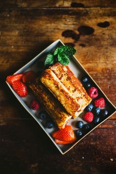 Rolled french toast- the recipe calls for frying but it could be modified for baking