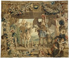 Maart en april, Everaert Leyniers, Jan van den Hoecke, Jan van den Hoecke, ca. 1650 - ca. 1680