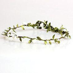 Vktech Hippie Blumenkranz Blumenkrone Festival Hochzeit Haarkranz Blumenstirnband: Amazon.de: Bekleidung