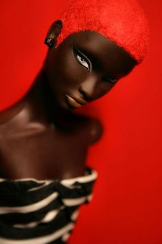 Just... wow. That's all I can say. #barbie #doll #black