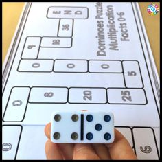 Want a fun, hands-on math puzzle to get your students thinking critically about their math facts? Read about how we've used dominoes to create these differentiated puzzles!