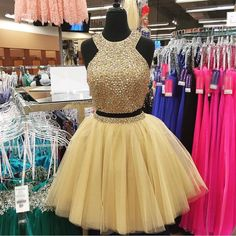 Charming Prom Dress, Tulle Prom Dresses,O Neck Homecoming