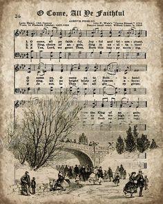 24 Ideas For Music Crafts Diy Christmas Carol Sheet Music Crafts, Sheet Music Art, Vintage Sheet Music, Vintage Sheets, Music Sheets, Christmas Carol, Christmas Holidays, Xmas, Snoopy Christmas