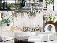 Contemporary White Wedding