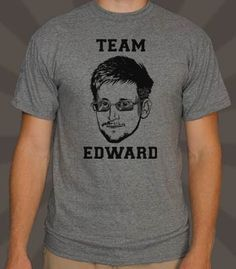 Team Edward Snowden   6DollarShirts