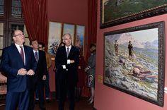 'Un Prince A La Chasse': Exhibition At Musee De La Chasse et De La Nature A Paris