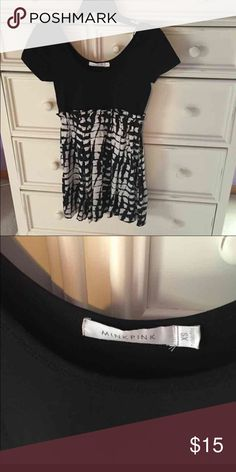 Dress Minkpink dress. Cute to wear during the summer or in the winter with tights. MINKPINK Dresses Mini