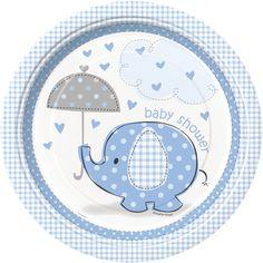 Nouvelle collection Baby Shower sur Mybbshowershop.com : Petit Eléphant Bleu