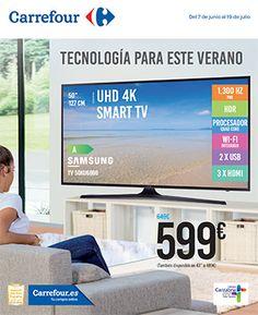 Carrefour tecnología para este verano desde el 7 al 19 de Junio -  Ver folleto Carrefour Folleto Carrefour disponible 7 de Junio hasta el 19 de Junio de 2017 Os dejamos las ofertas más destacadas:       Televisiones Carrefour  Televisión 50″ Samsung TV 50KU6000 por 599€ Televisor LG 49UJ651V de 49″ por 849€  Televisiones mas... #CatálogosCarrefour, #Catálogosonline  #Beats, #Indesit, #LG, #Samsung, #Sony, #Wolder Ver en la we