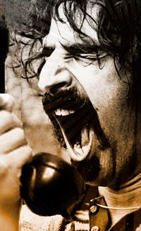 Frank Zappa.... One of my favorite photos