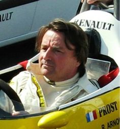 Rene Arnoux – winner of the 1980 South African Grand Prix for Renault,