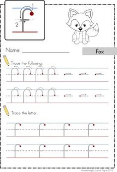 Handwriting - Circles and Lines {Lowercase Letters}. Help kids learn correct letter formation from the START with these worksheets. Each formation stroke is separated, before kids attempt to form the complete letter.