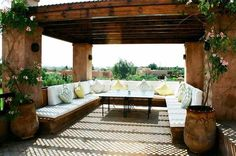 Image result for moroccan roof terraces