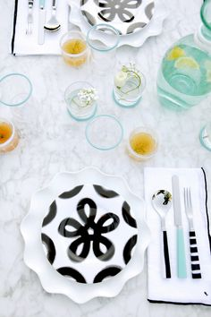 a mediterranean inspired tabletop // paola navone for crate & barrel